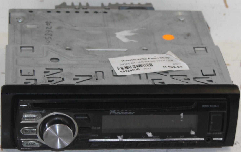 Pioneer car radio S026850a  #Rosettenvillepawnshop