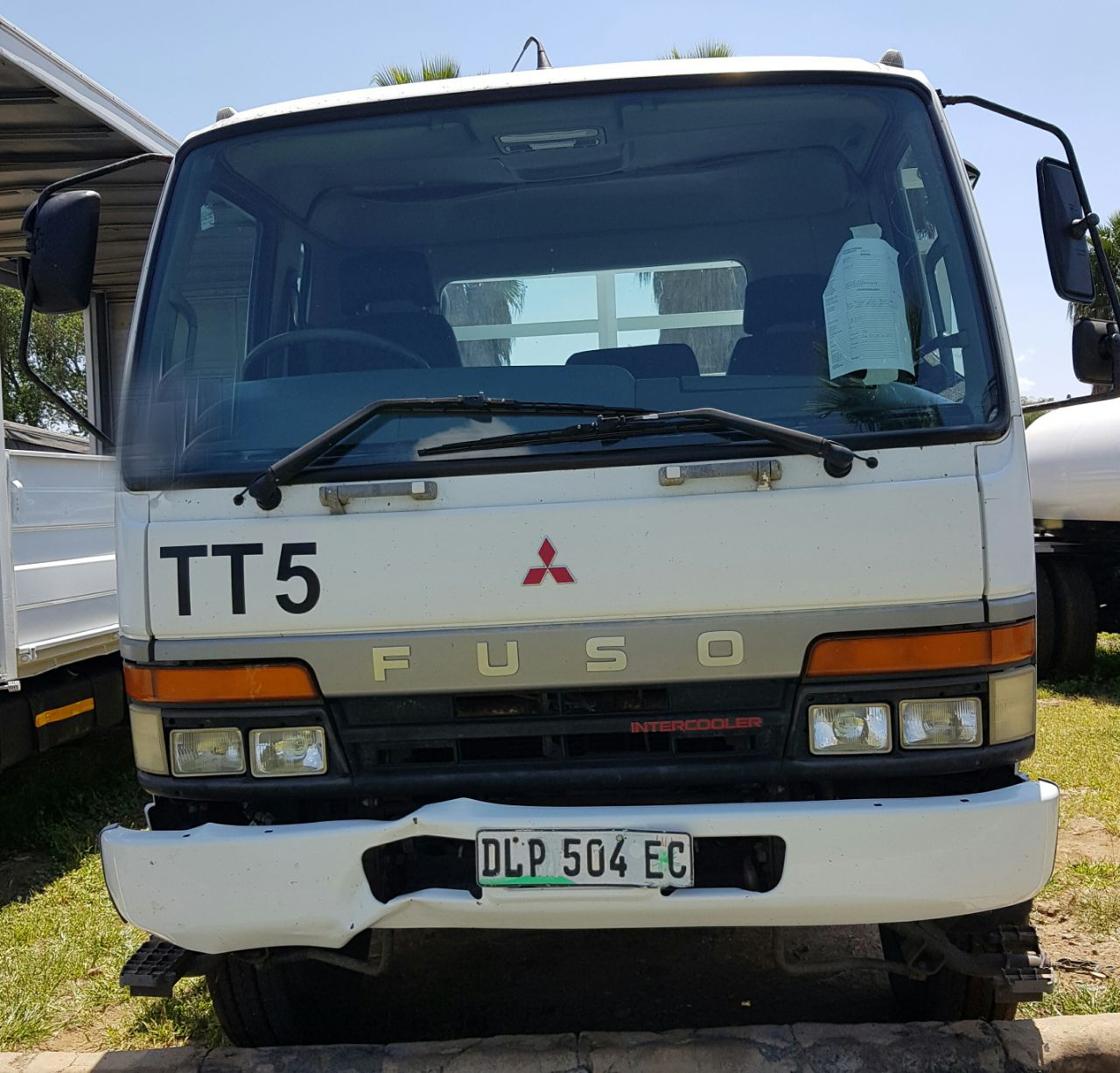 2005 Mitsubishi Fuso FM14-213 dropside truck for sale | Junk Mail
