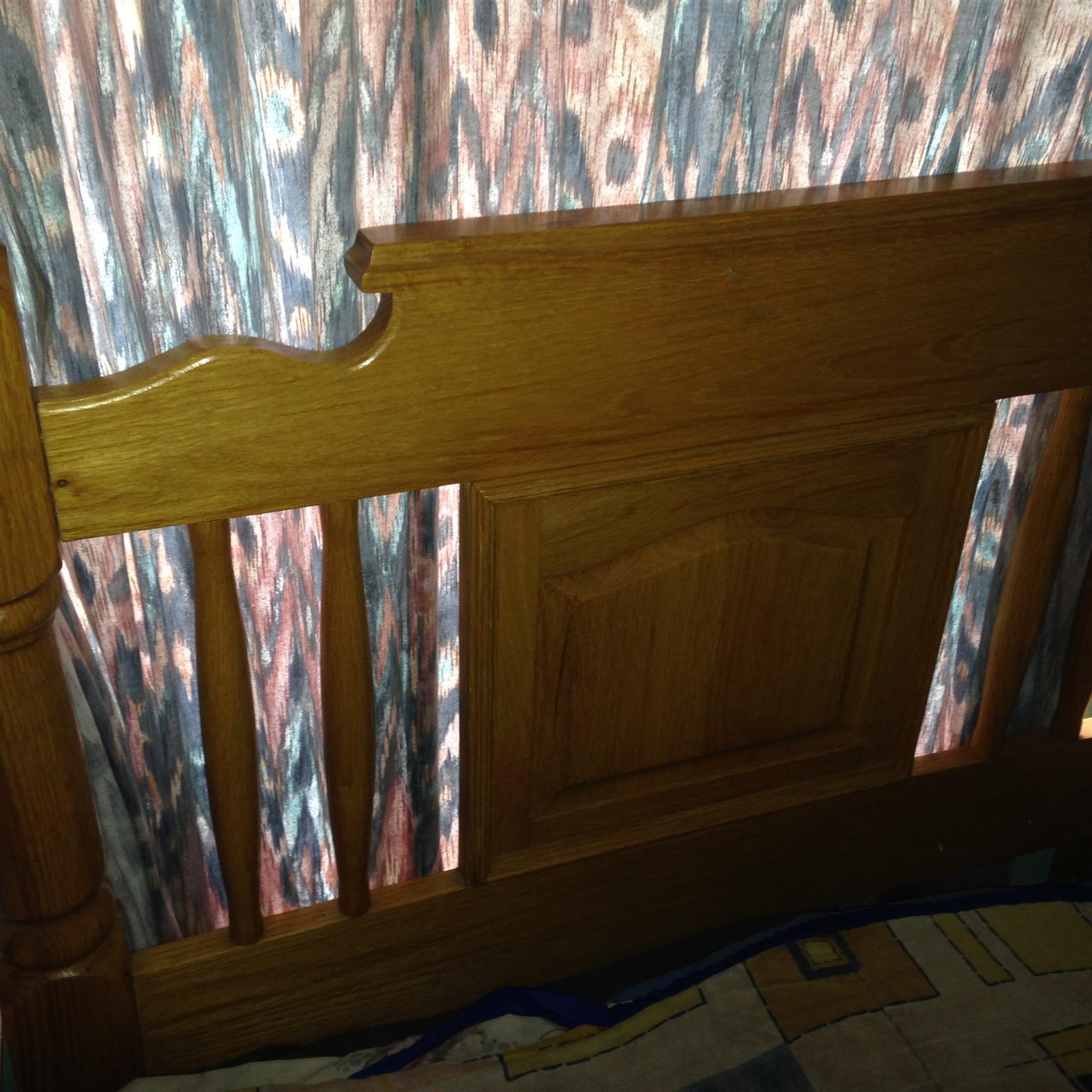 Solid oak furniture