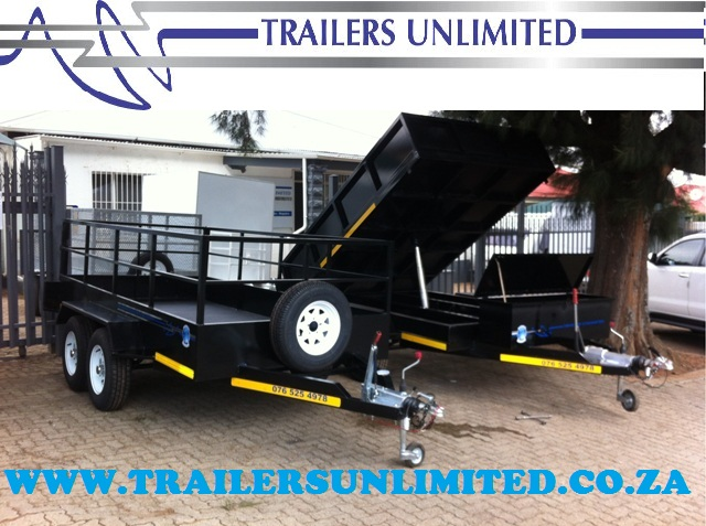 TRAILERS UNLIMITED TIPPER TRAILERS. 3000 X 2000 X 500MM