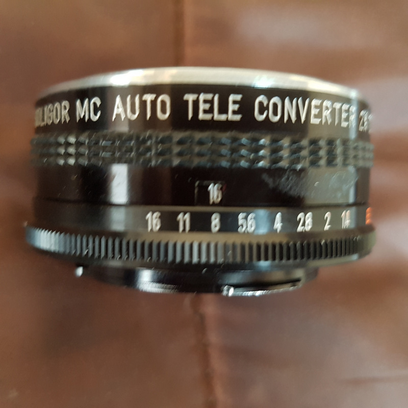 Soligor MC Auto 2x Tele Converter to fit Konica