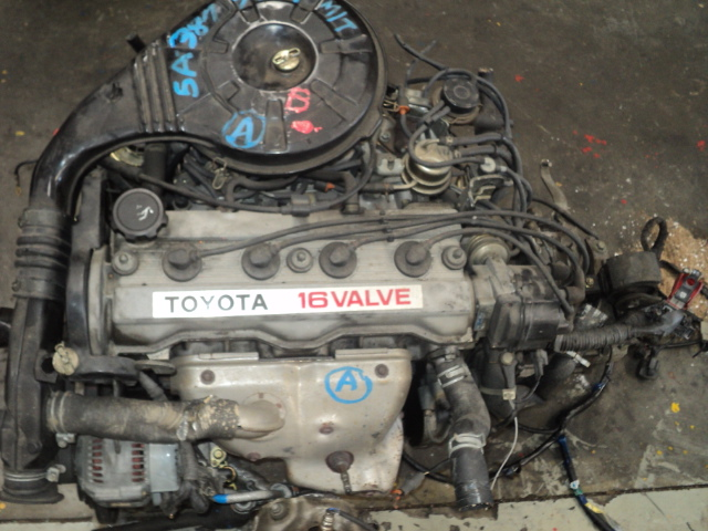 toyota corolla 16 16v carb engine(5af - kentucky rounder) R10000.00