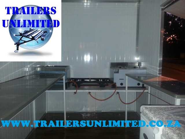 CUSTOM BUILD CATERING FOOD TRAILERS.