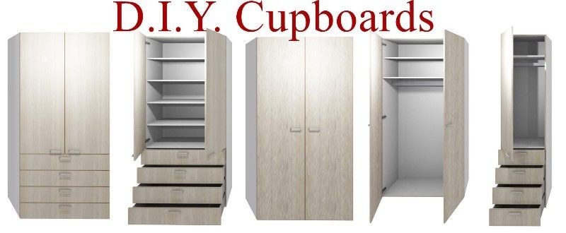 DIY Pre Assembled Kitchen & Bedroom Cupboards