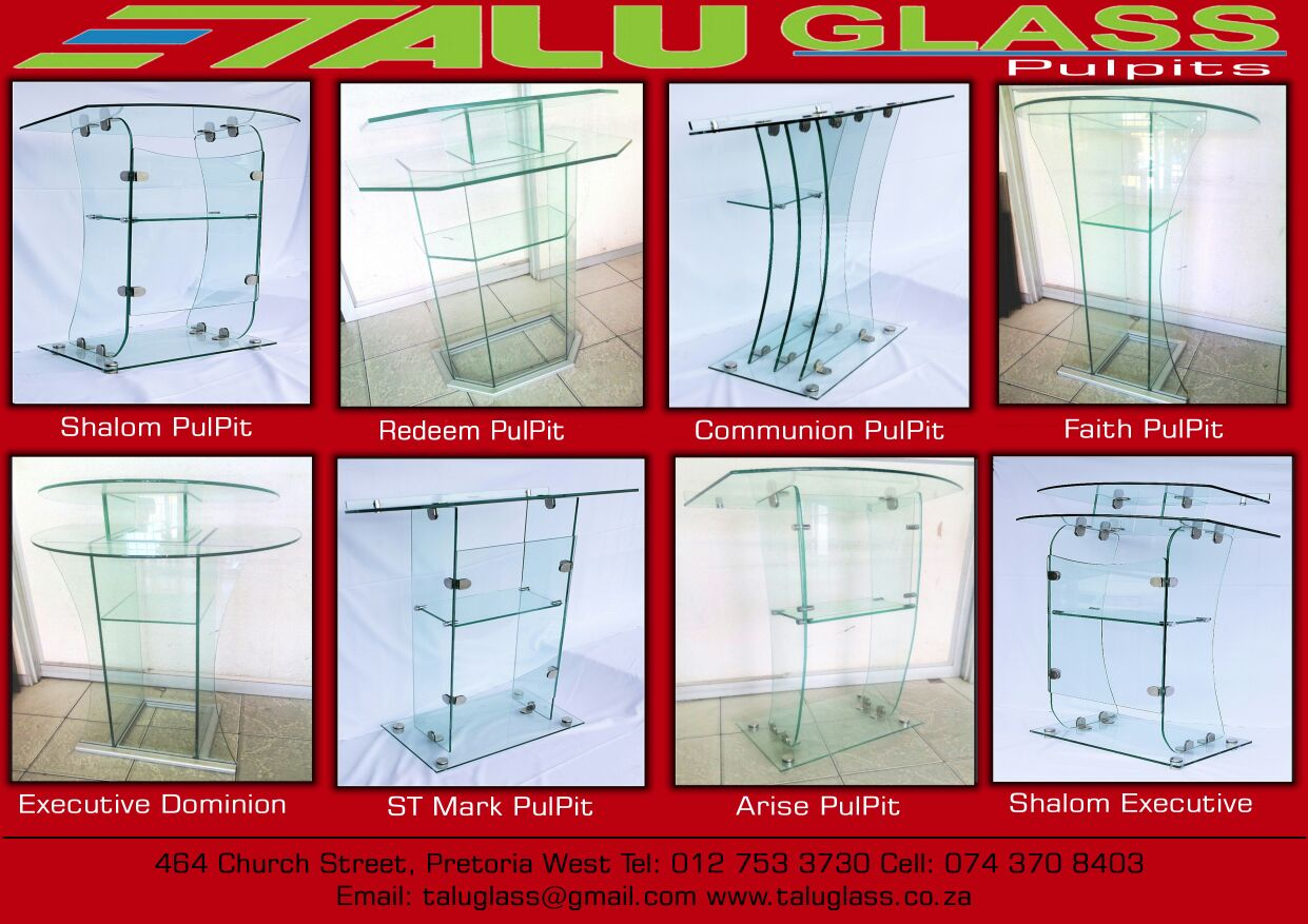 Glass Pulpit,Podium,Lectern,Bible Stand,Altar