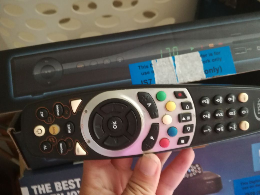 HD PVR decoder and dish