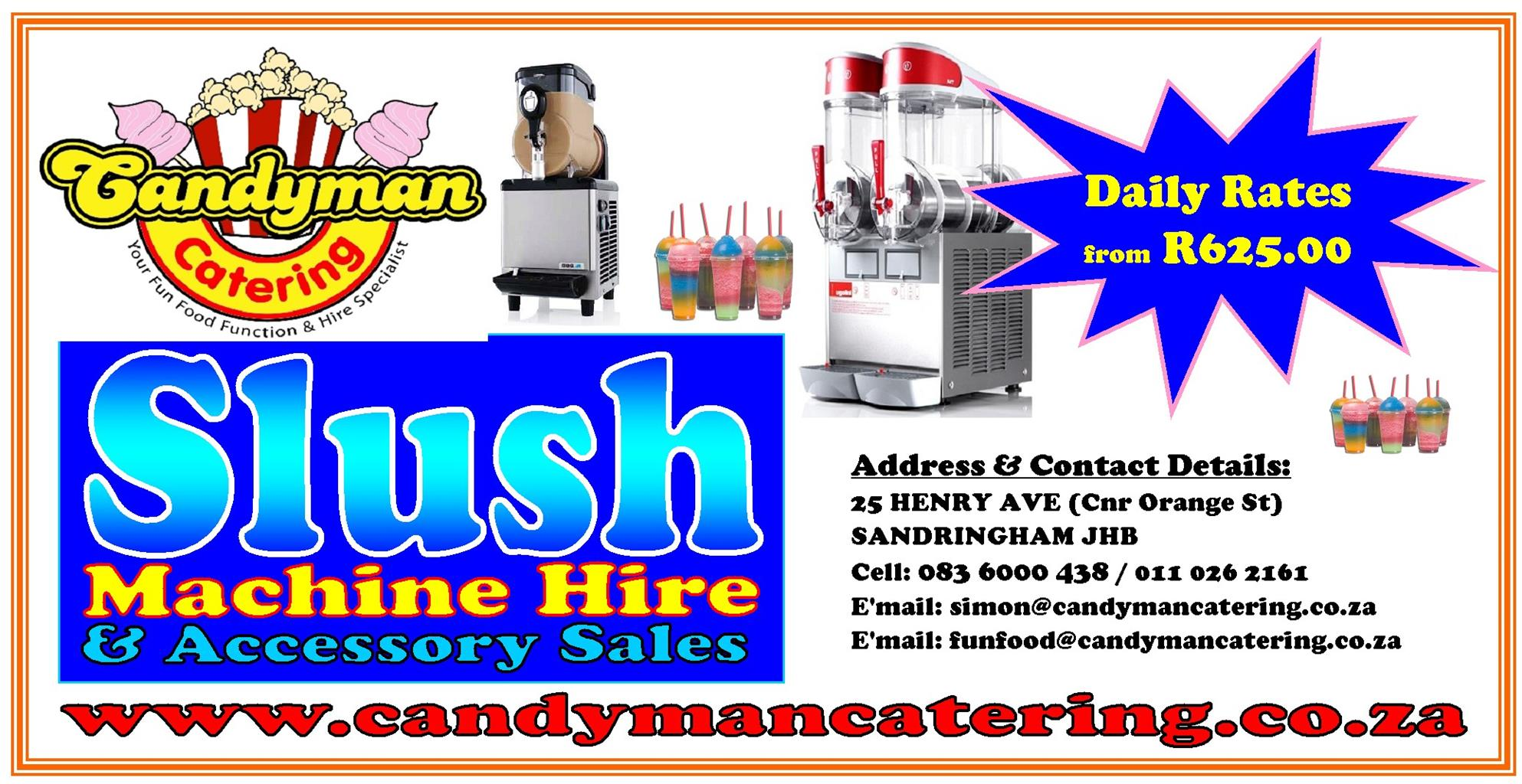 Slush Machine Rentals