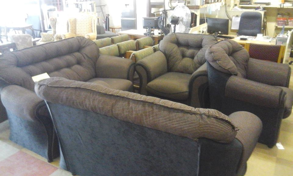 4 Piece dark gray lounge suite