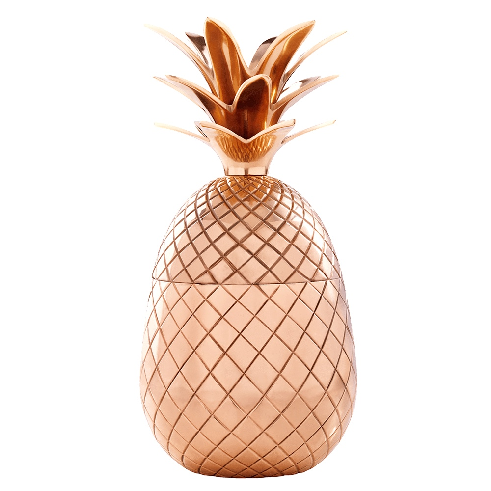 Pineapple Tumbler - 500ml Copper finish