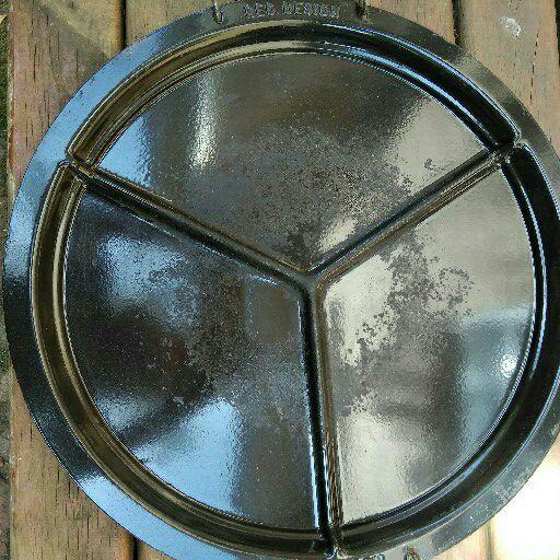 Cadac scottle braai plate