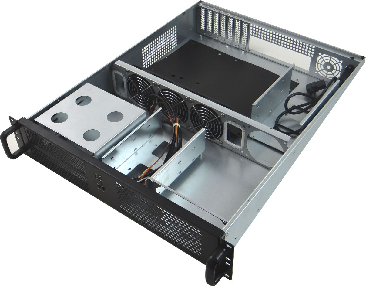 CSF012 2U Rack Mount Case With No PSU For ATX