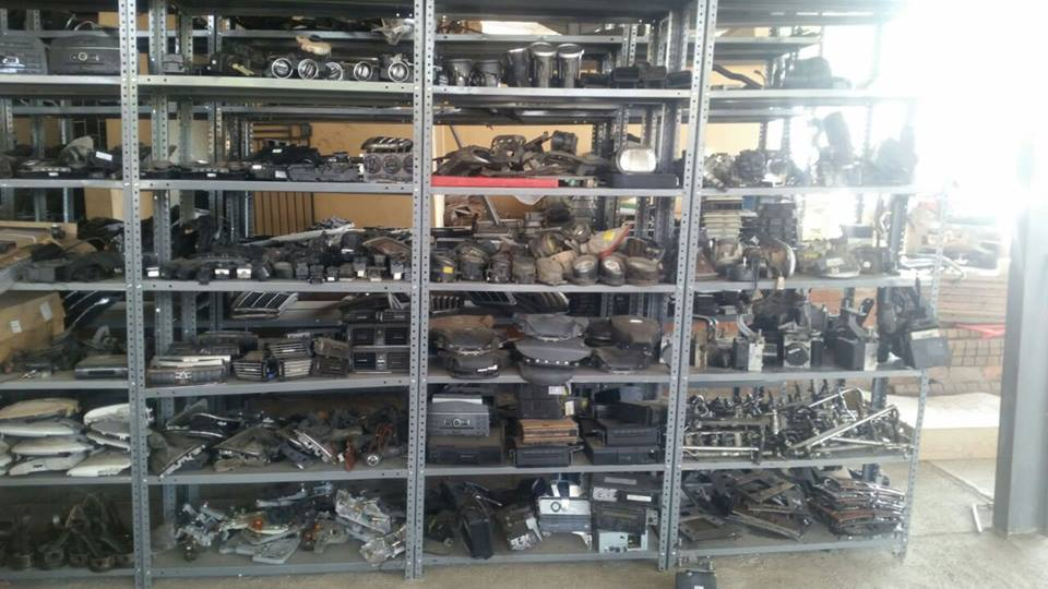 Variety of Mercedes New and Used Spares