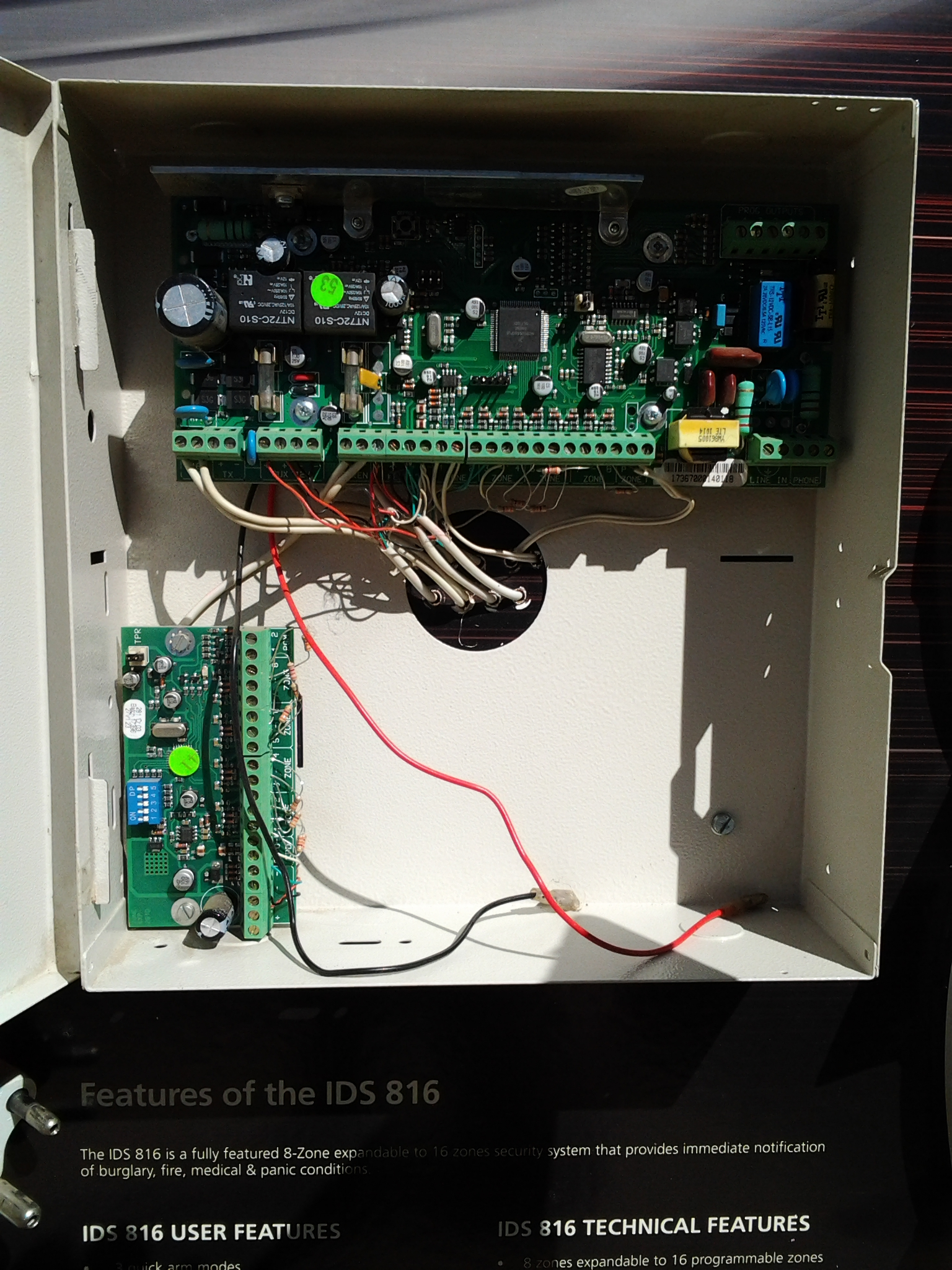 Fully Operational Prewired IDS Security Panels & Accessories