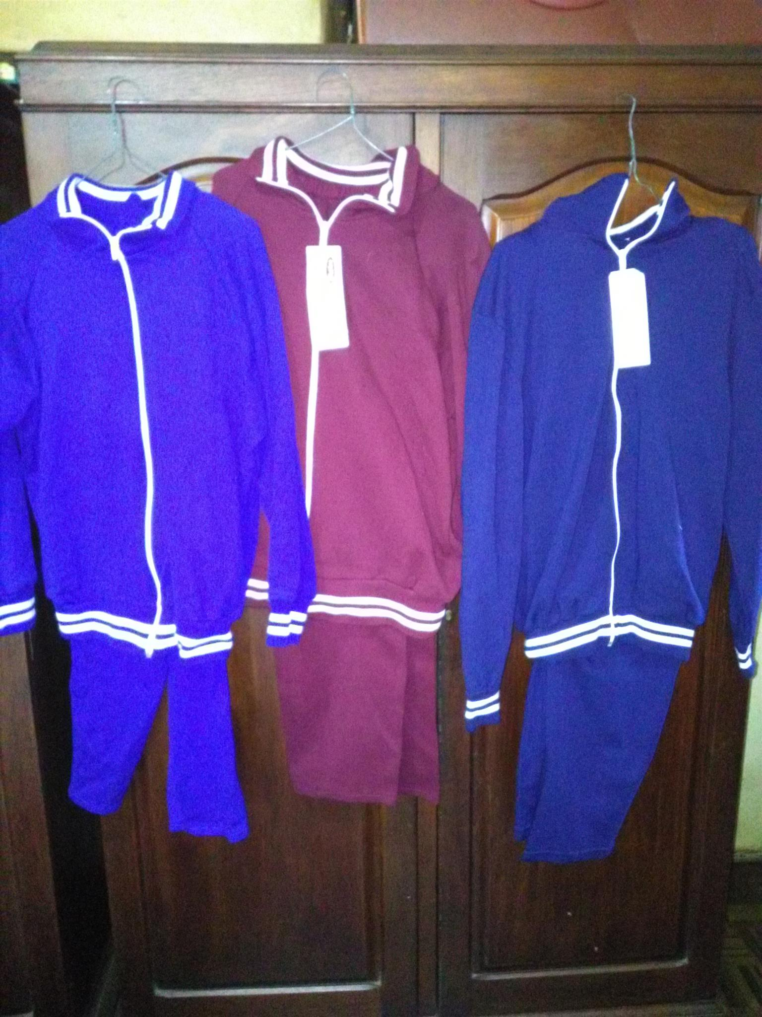 Track suits for sale