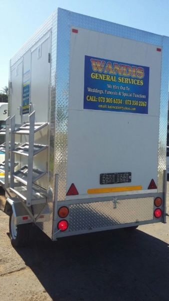 Mobile Chillers - Mobile freezers - Vip Toilets - Mobile Kitchens