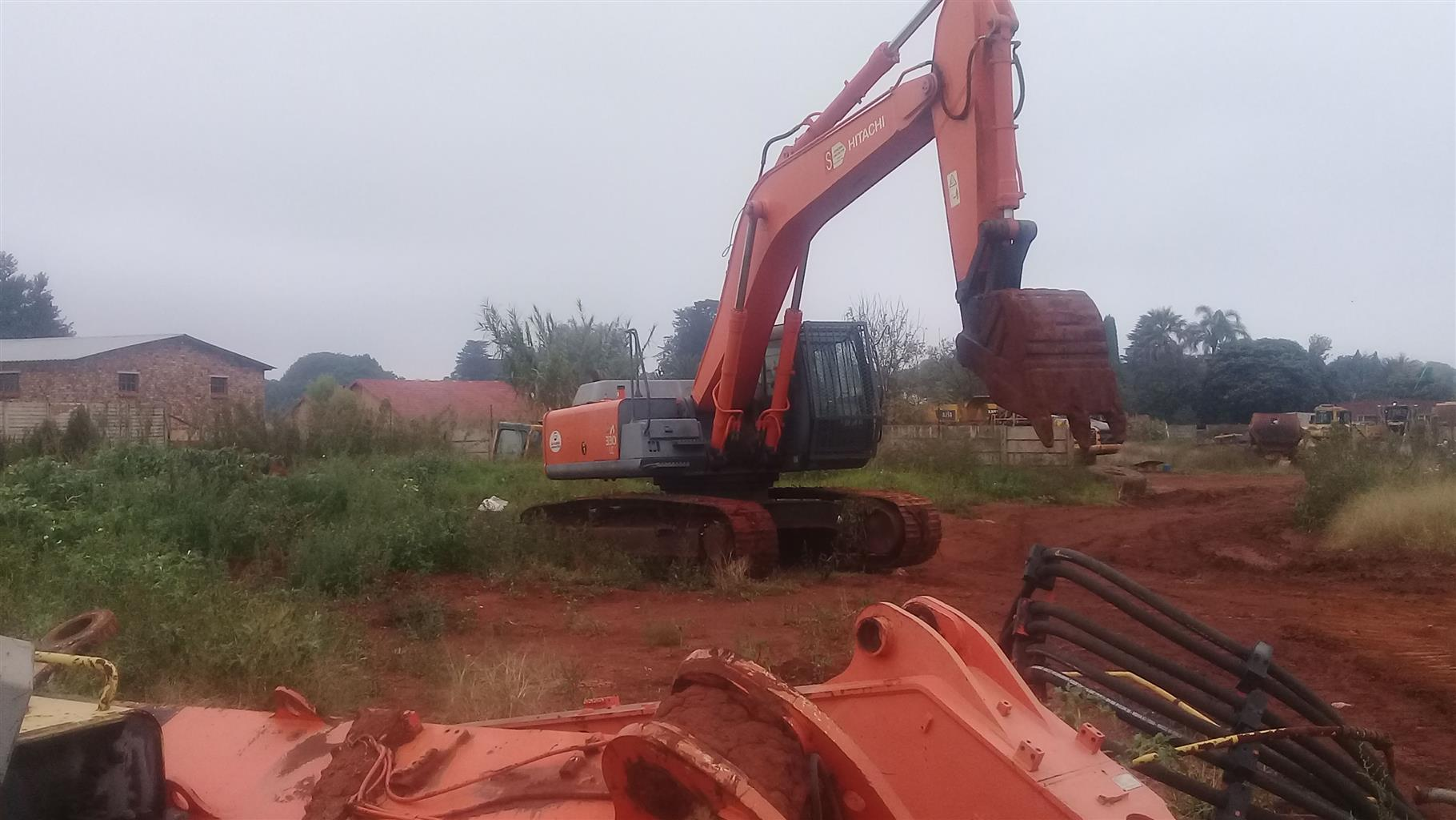 Excavator spares