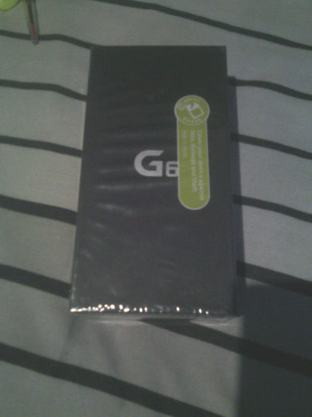 LG G6 Platinum Sealed in box for Sale