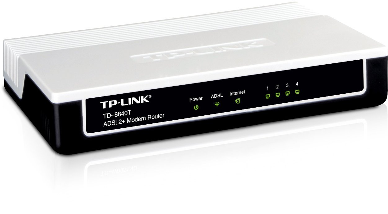 TP LINK ADSL 4 PORT WIRED ROUTER | Junk Mail