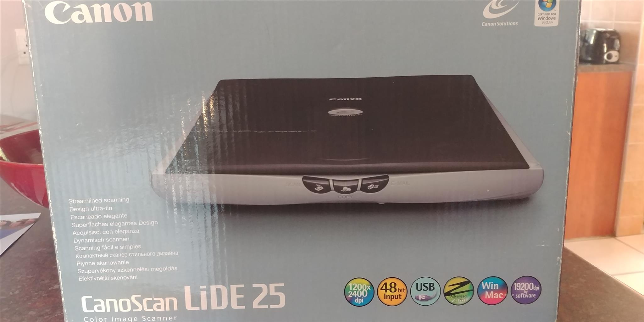 Canon Canoscan Lide 25 Flatbed