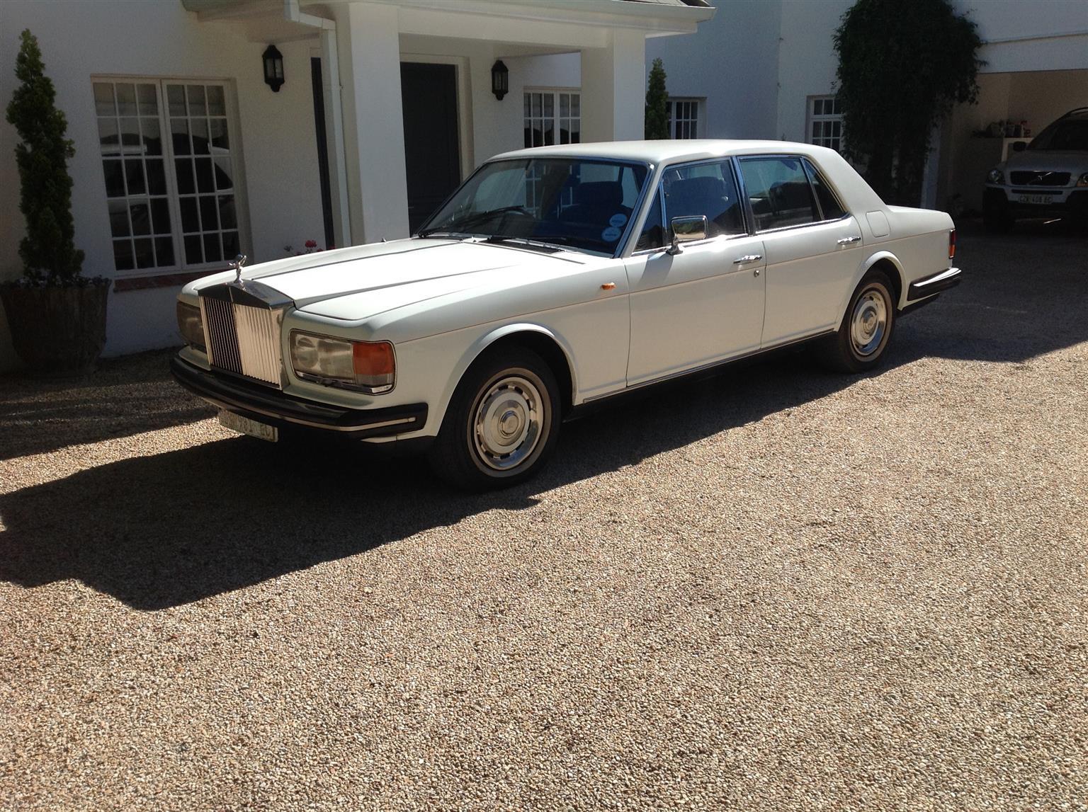 1981 Rolls Royce silver spirit for sale