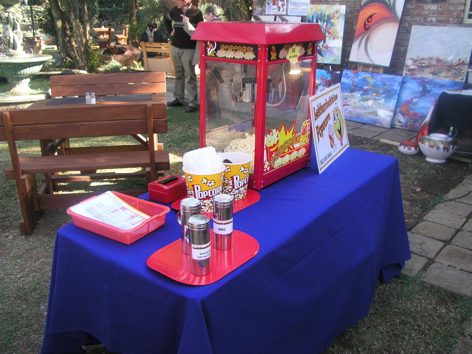 Popcorn Machine & Related Equipment Rental & Ingredients