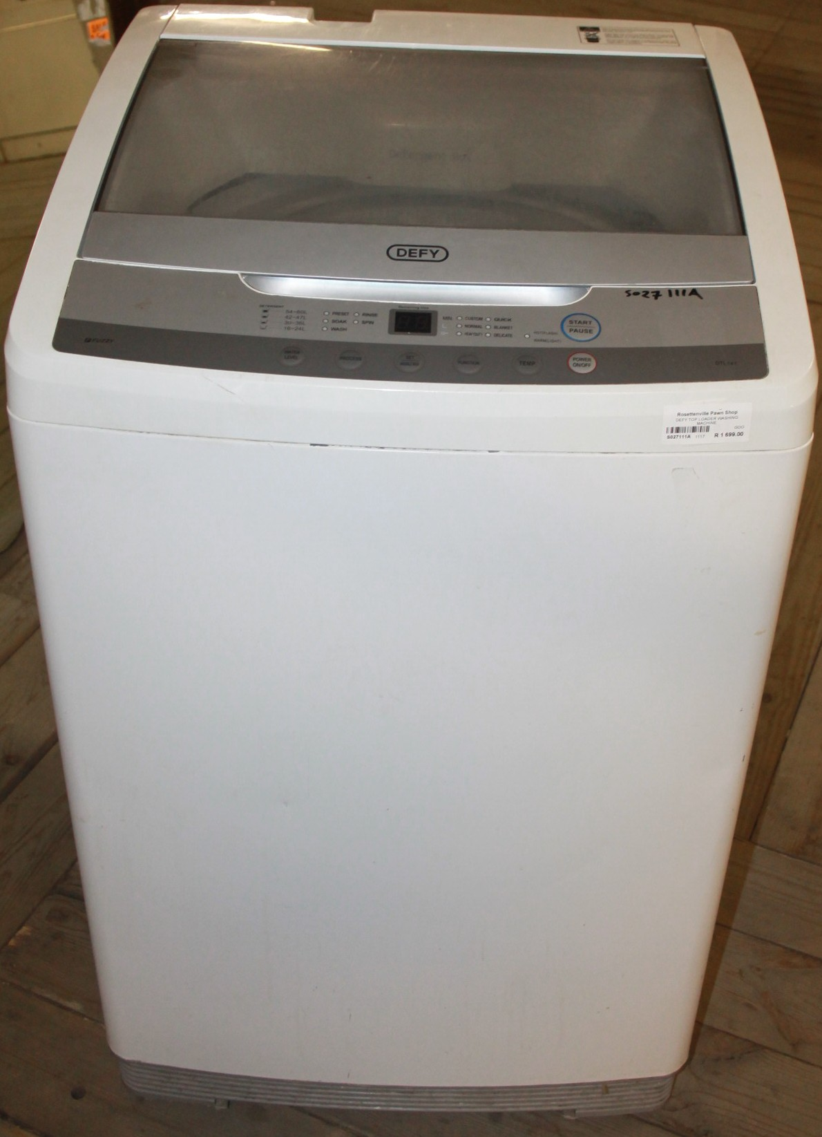 Washing machine S027111a #Rosettenvillepawnshop