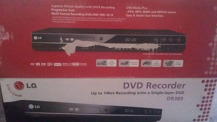 LG DVD Recorder