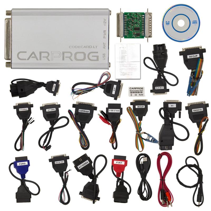 Carprog V10.05 Full Set ECU Chip Tunning