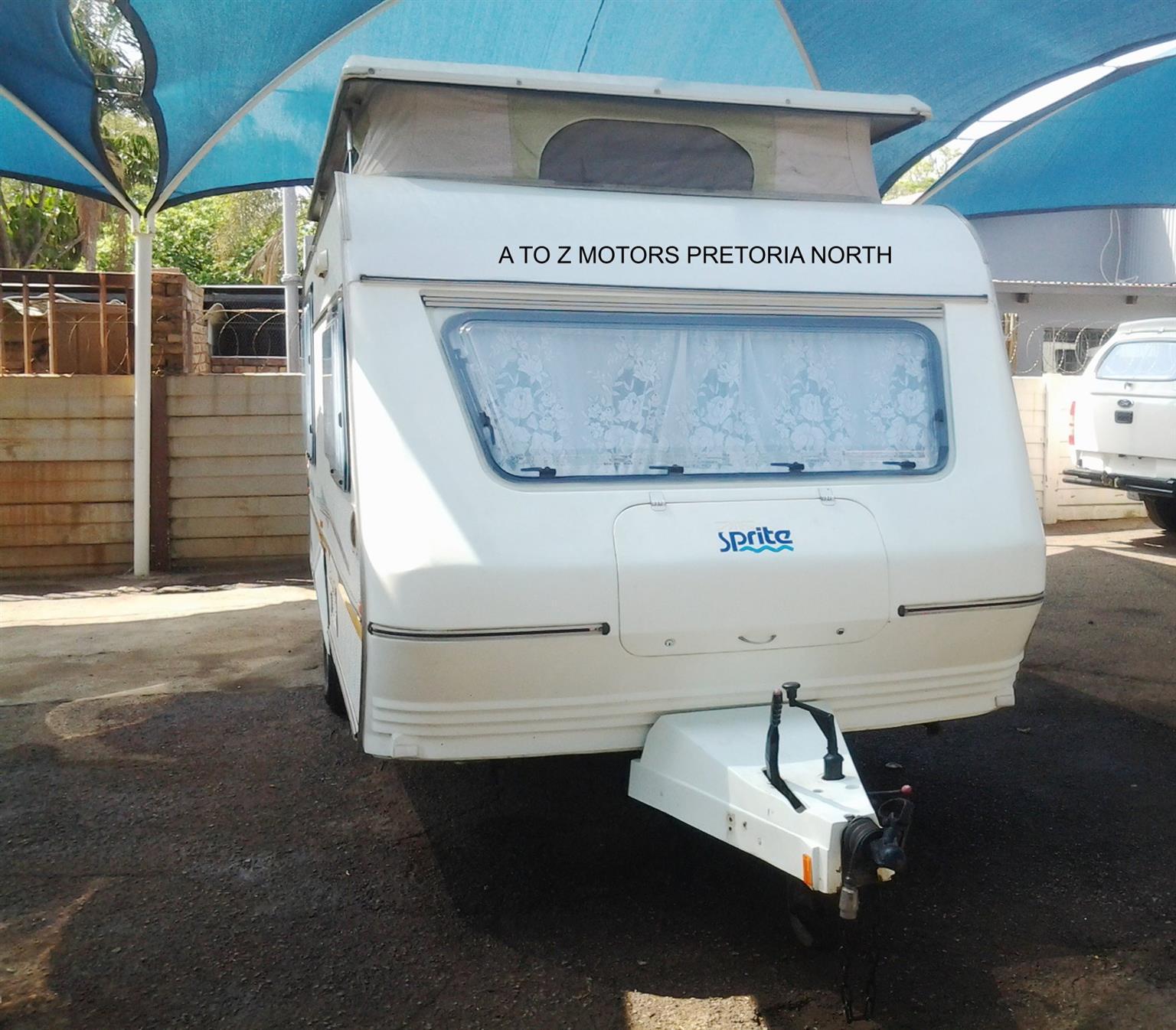 1996 Sprite Super Sport Caravan
