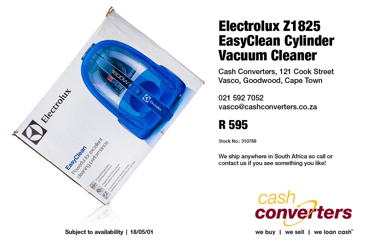 Electrolux Z1825 EasyClean Cylinder Vacuum Cleaner