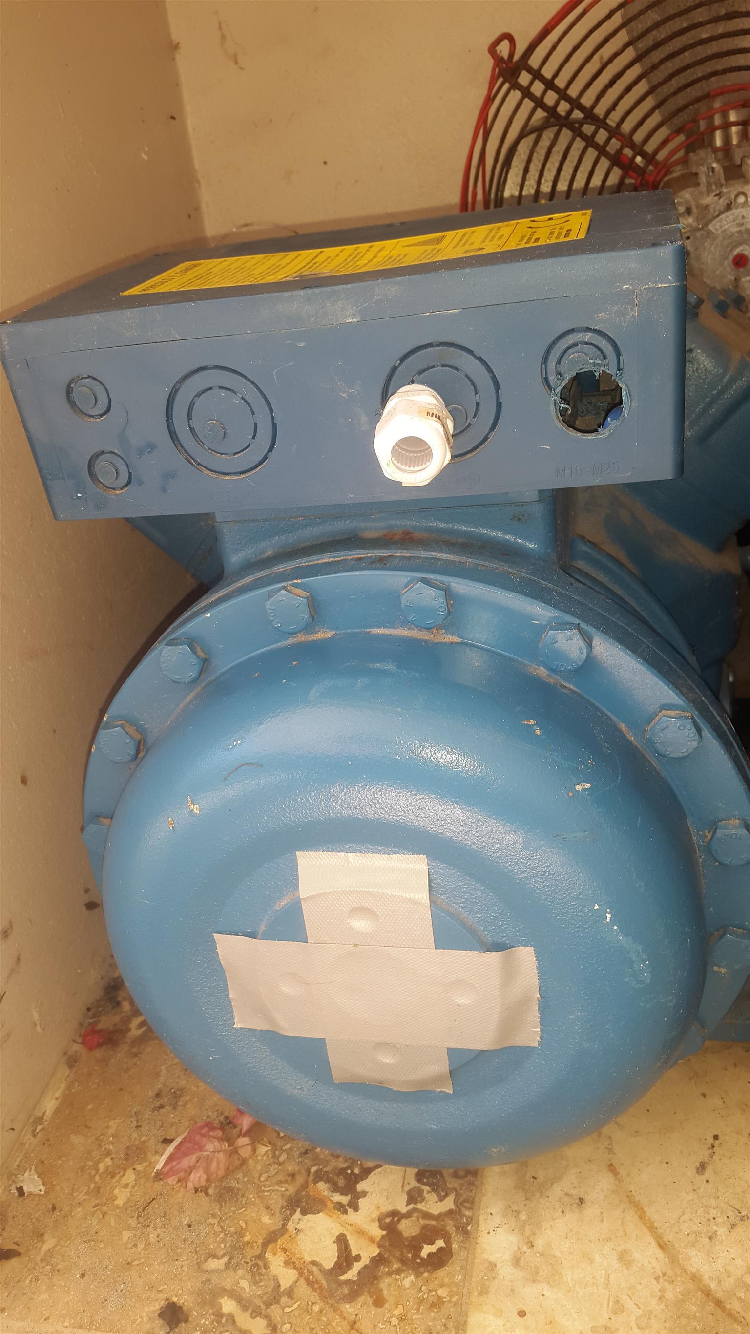 15 hp Compressor - Refrigeration