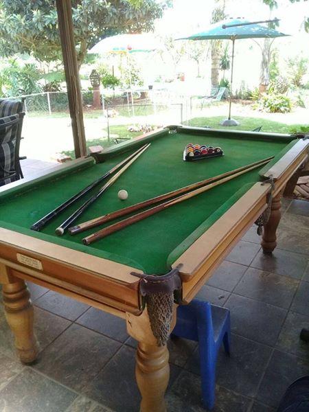 Slate Top Pool table