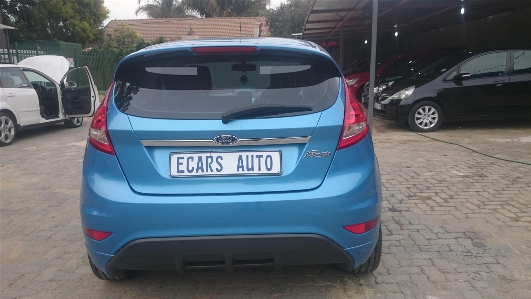 2010 Ford Fiesta 1.4 3 door Titanium