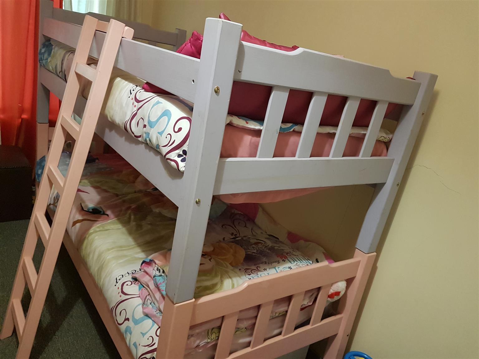 Girls Bunk Bed Custom Made