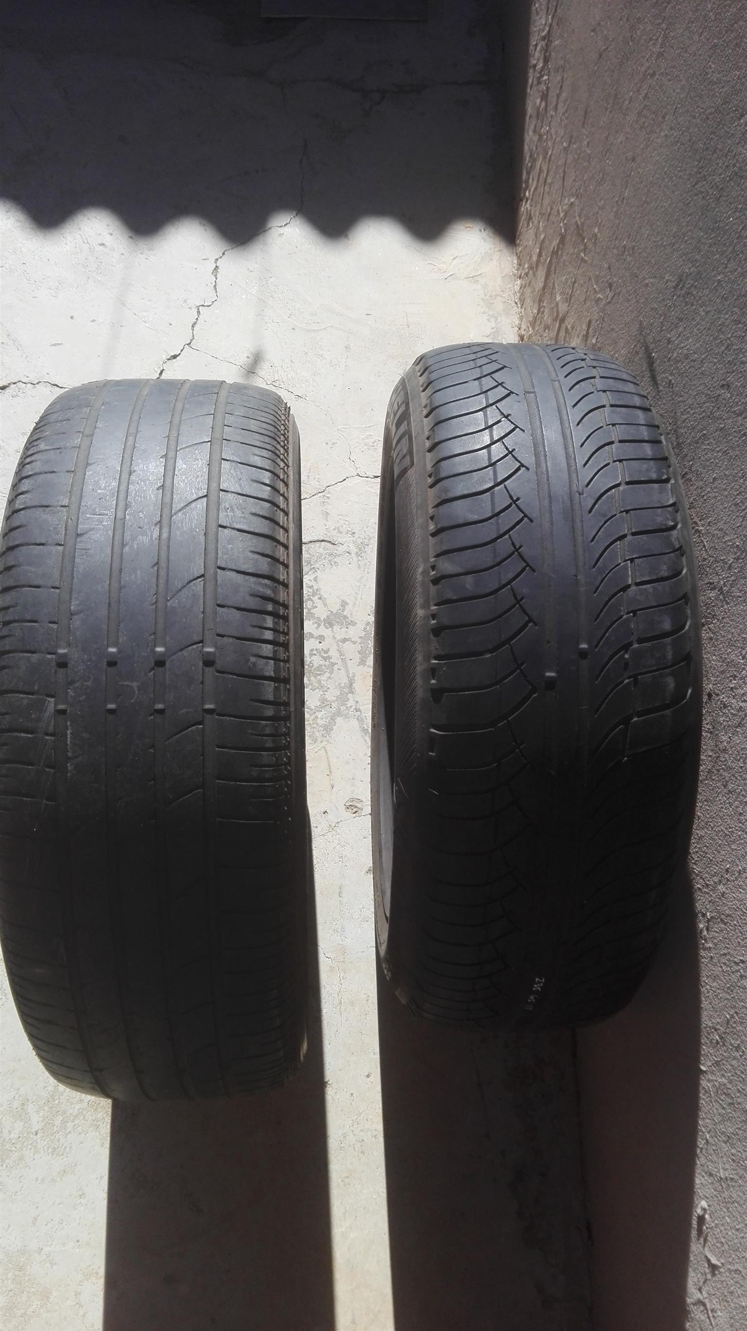 Bridgestone and Michelin 235/65/17