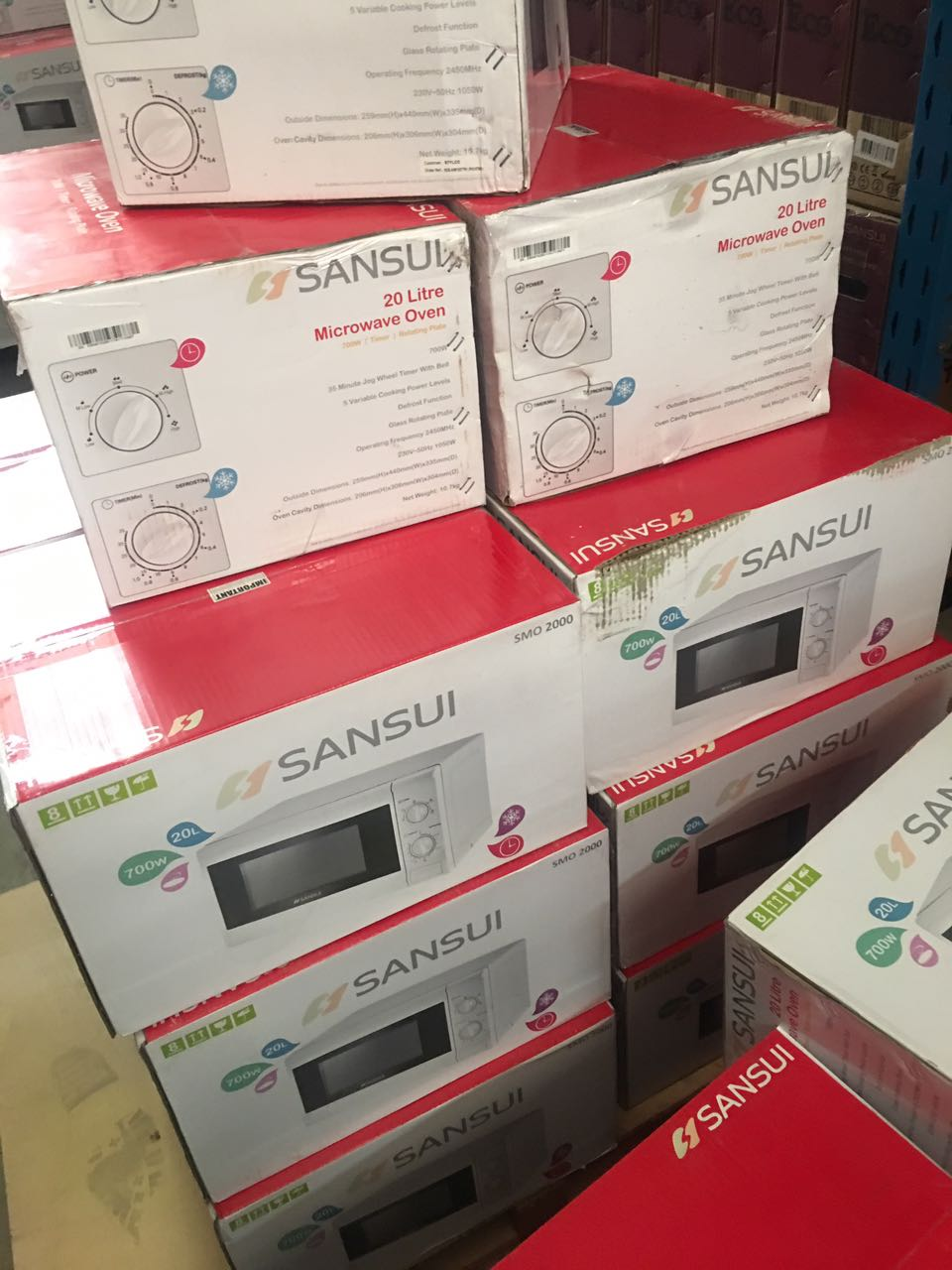 New Sansui 20L Microwave