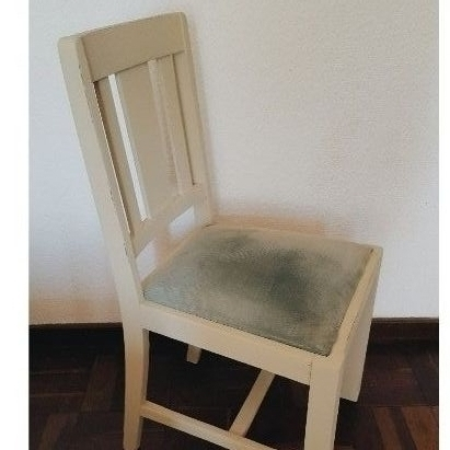 Chalk Painted Antique Chair