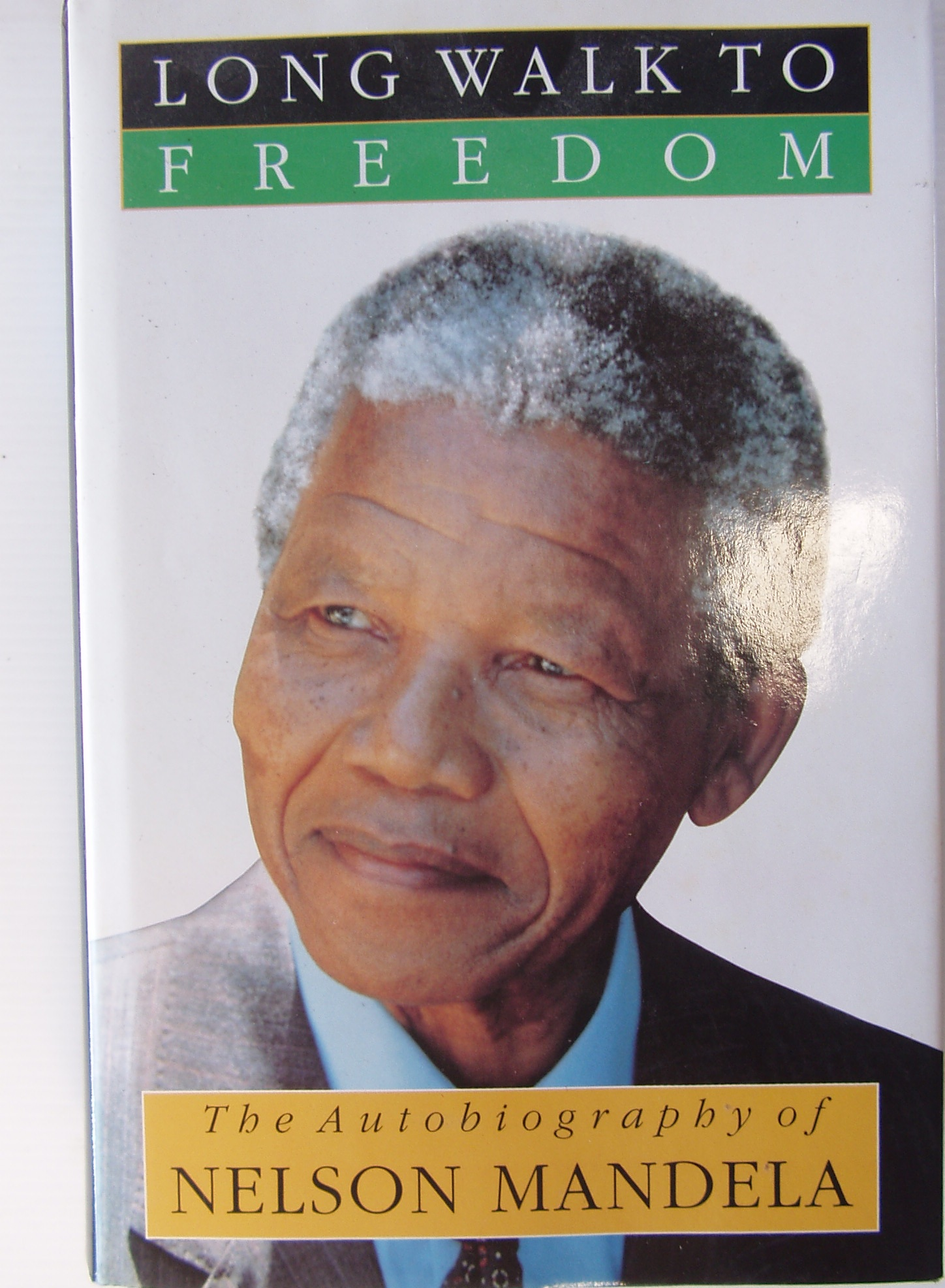 NELSON MANDELA Long Walk to Freedom INSCRIBED EDITION to Jonty Rhodes by Nelson Mandela