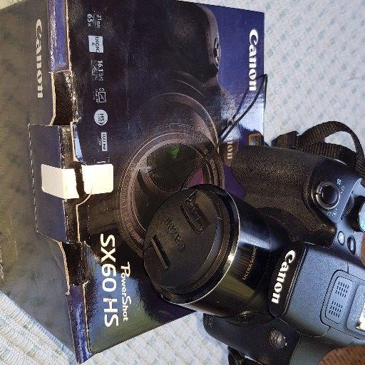 Canon Power Shot SX60HS camera