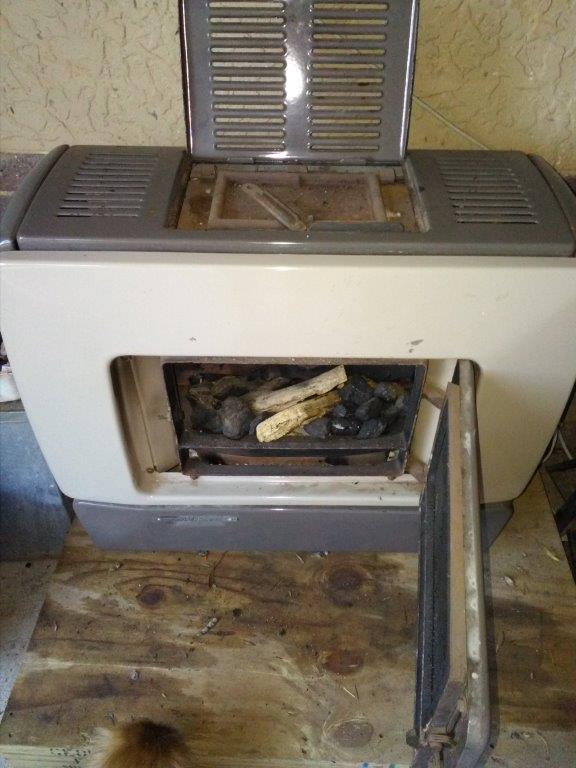 Beckers Antracite Heater