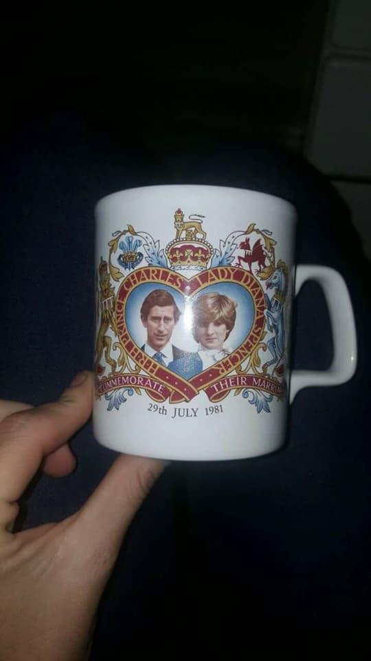 Charles and Diana mug