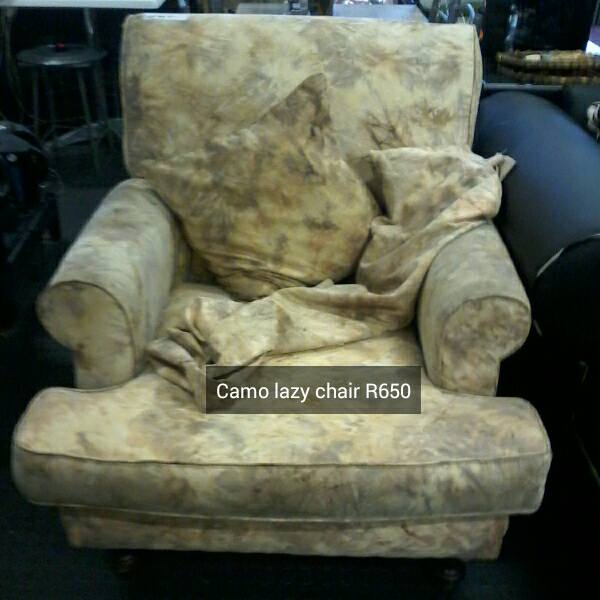 Camo lazy chair