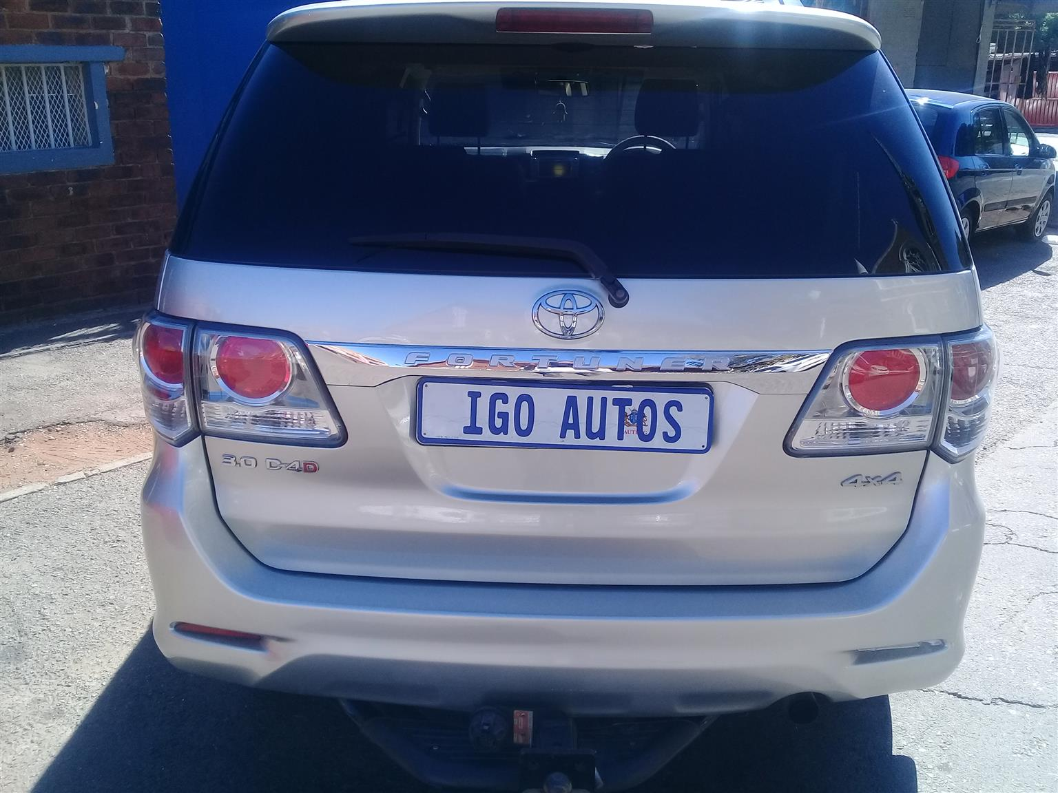 2013 Toyota Fortuner 3.0D 4D 4x4 Heritage Edition automatic