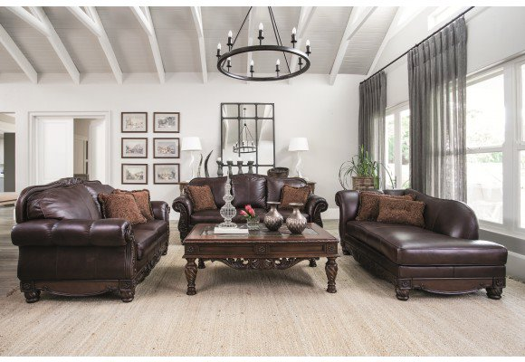 Genuine leather Gene and Richards lounge suite for sale!