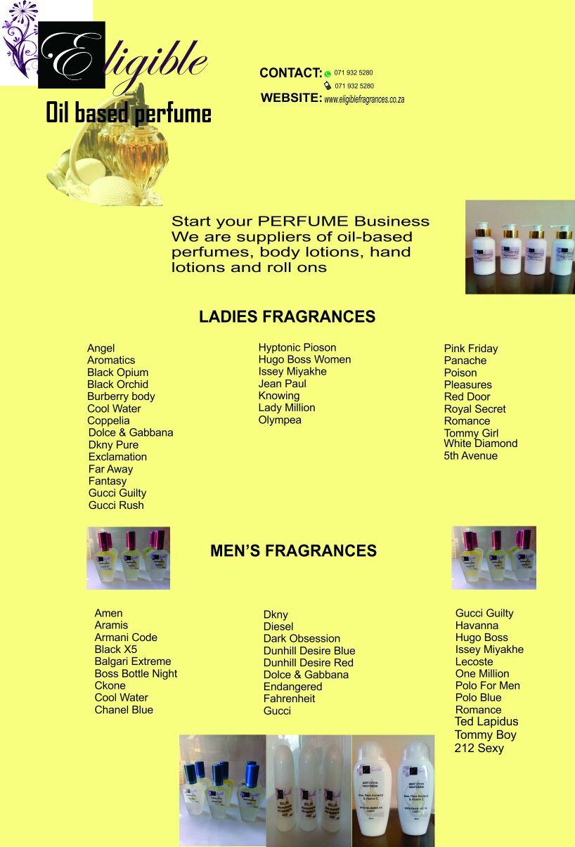 Perfume Manufacturing
