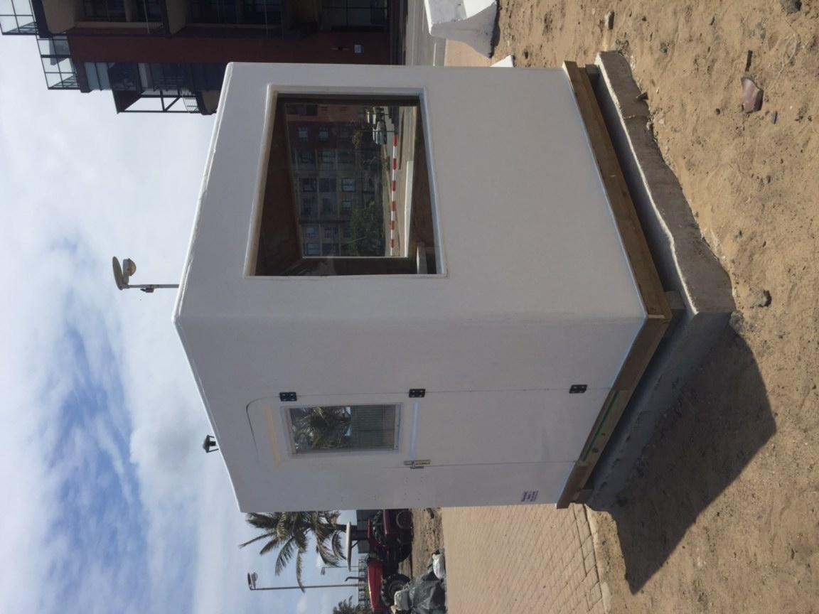 Fibreglass Guard Huts