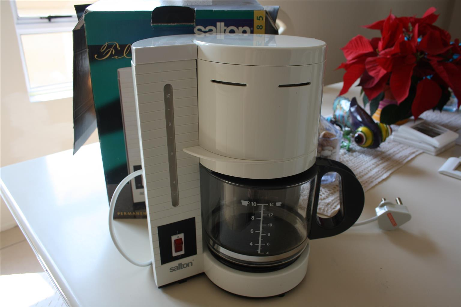 Salton Filter Coffee Machine