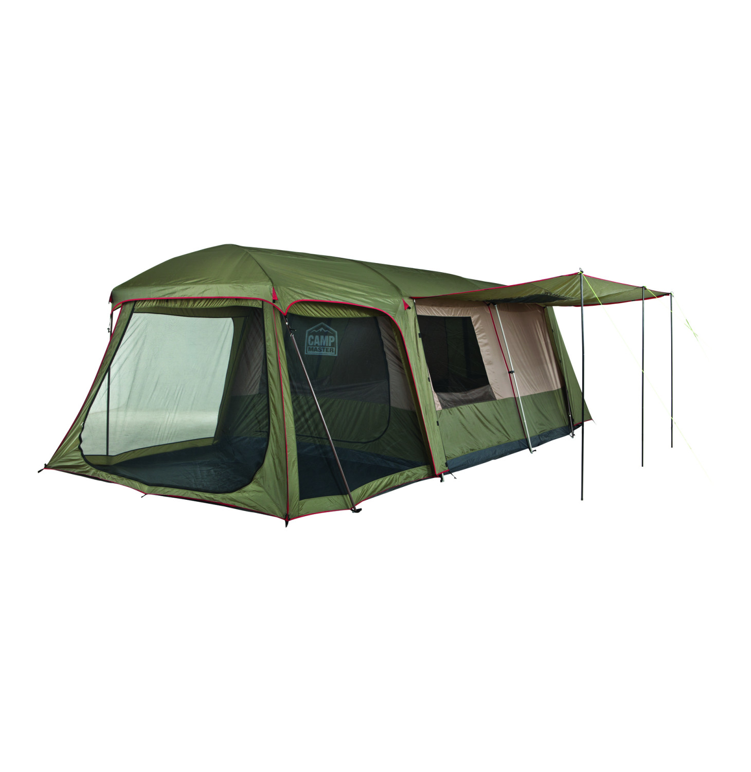 CAMPMASTER. FAMILY CABIN 900. 9 Sleeper. New demo tent.