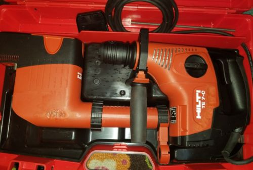 Hilti Hammer Drill- almost new with dust removal attachment