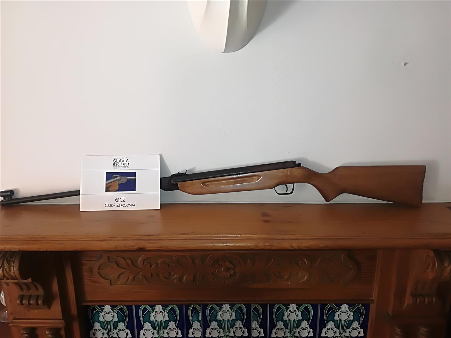 Slavia 630 Air rifle for sale in very good condition